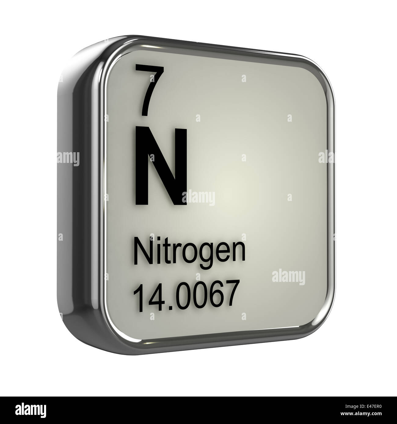 3d nitrogen element from the periodic table stock photo 71465380 3d nitrogen element from the periodic table urtaz Gallery