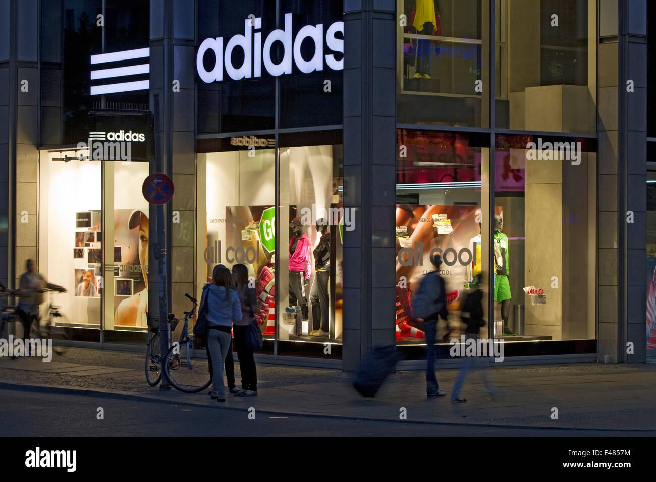Adidas flagship store Stock Photo: 71479848 Alamy