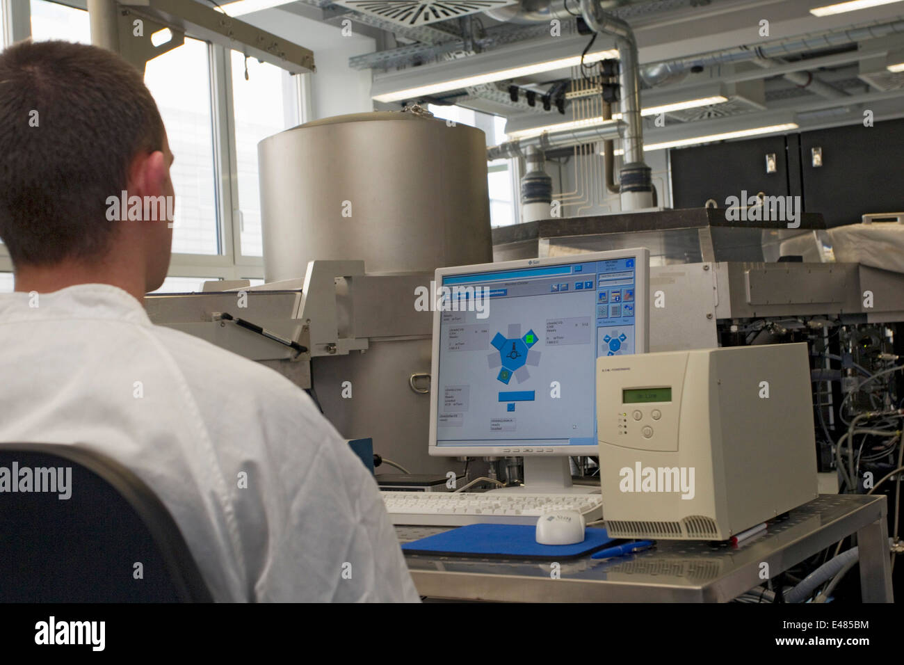 Competence Centre for Photovoltaics - Stock Image
