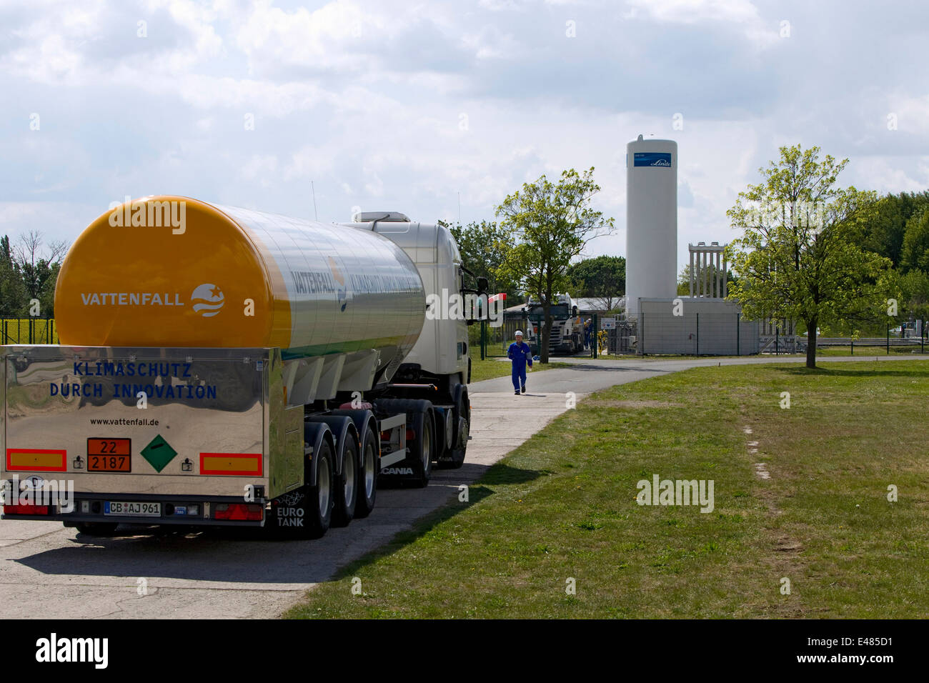 CO2 storage Ketzin - Stock Image