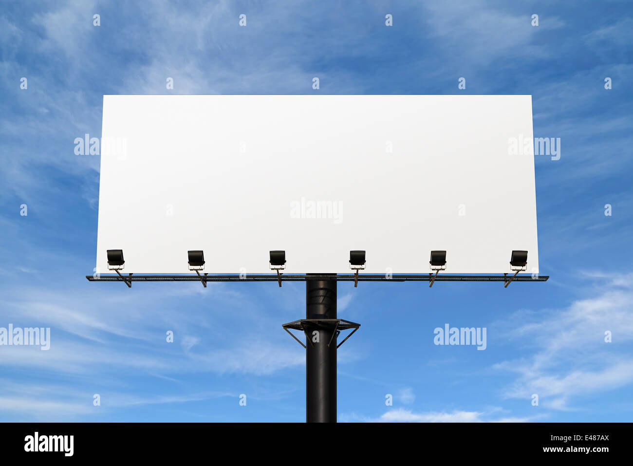 Blank Billboard. - Stock Image