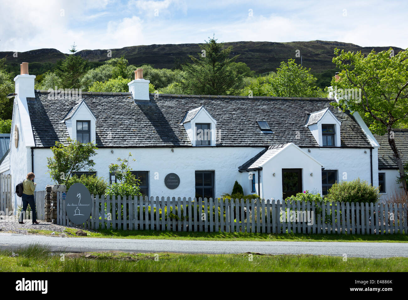 The Three Chimneys Skye Stock Photos Amp The Three Chimneys