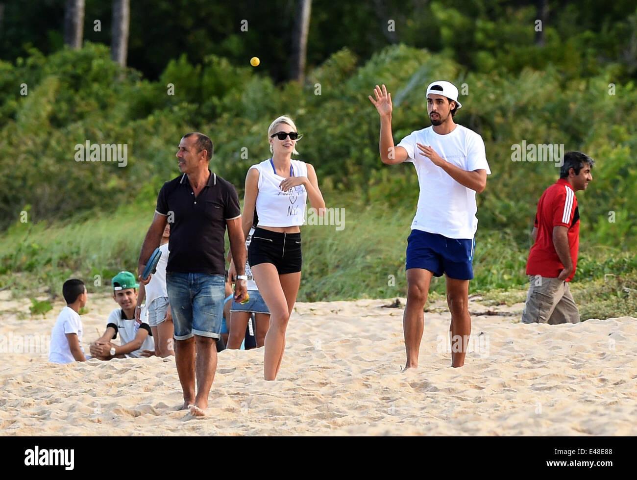 Sami Khedira 2 R Of The German National Soccer Team And