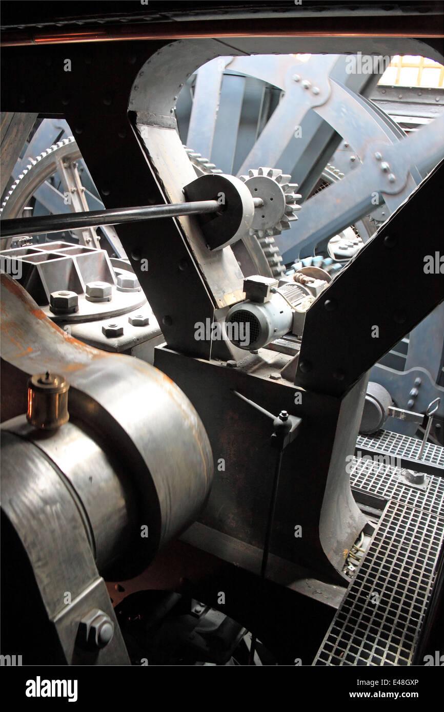 Steam Ship Engine Room: Engine Room, SS Great Britain, Bristol Docks, England