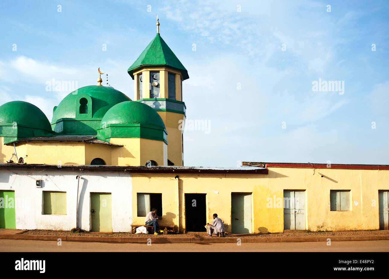 Mosque ( Ethiopia) - Stock Image