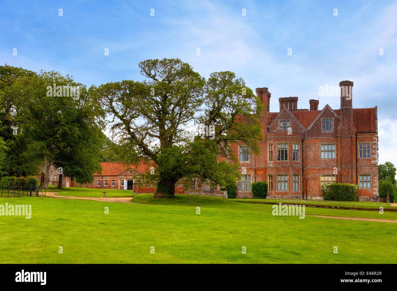 Breamore House, Breamore, Hampshire, England, United Kingdom Stock Photo