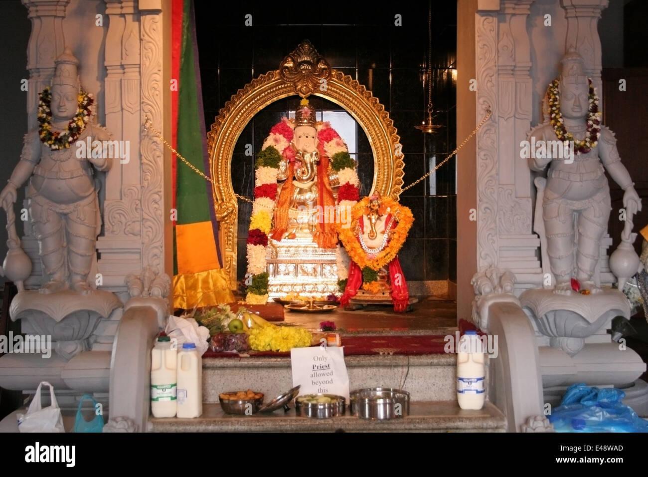 Inside hindu temple in Badulla, Sri Lanka Stock Photo ...   Inside A Hindu Temple
