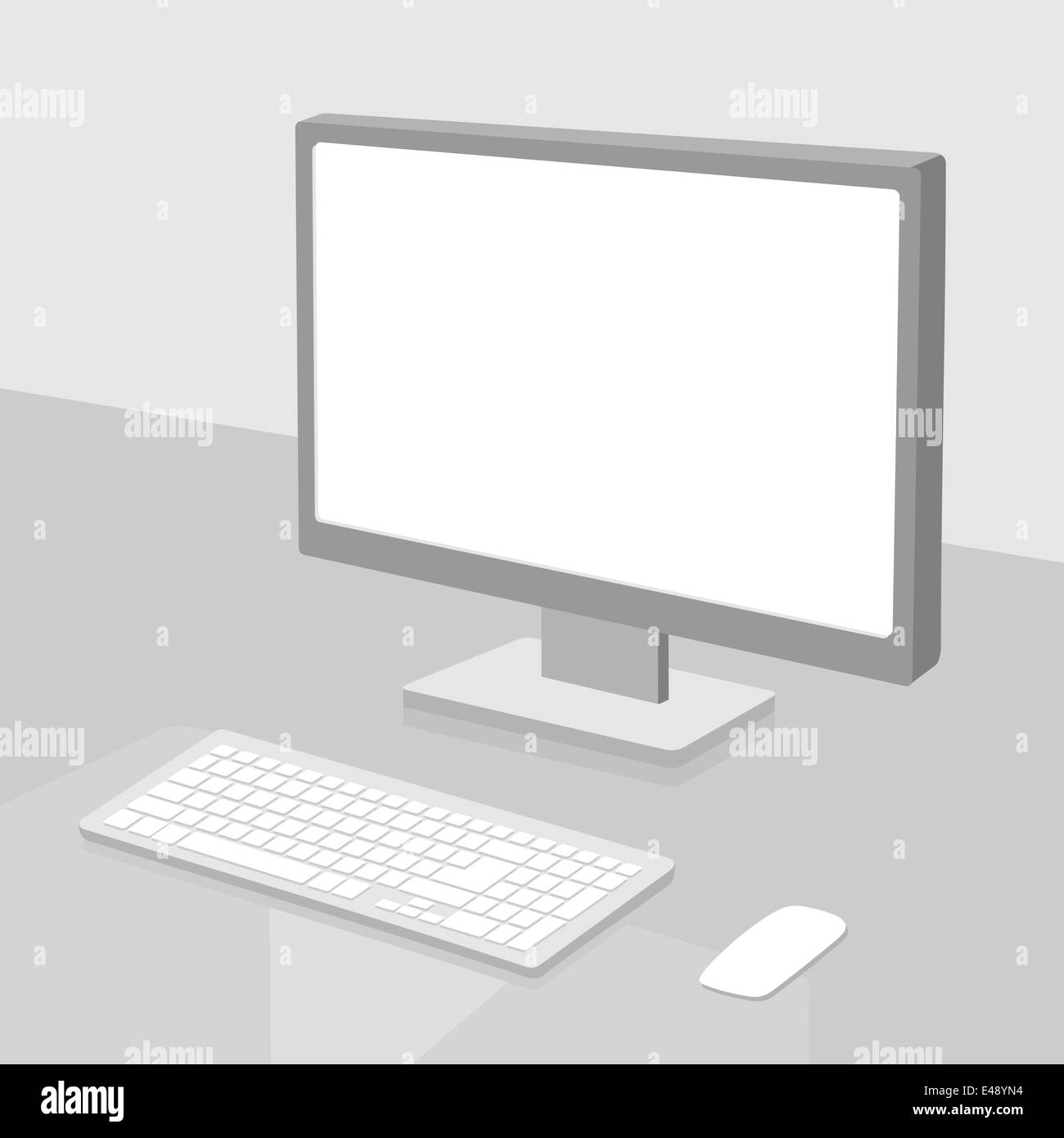 Personal computer - Stock Image