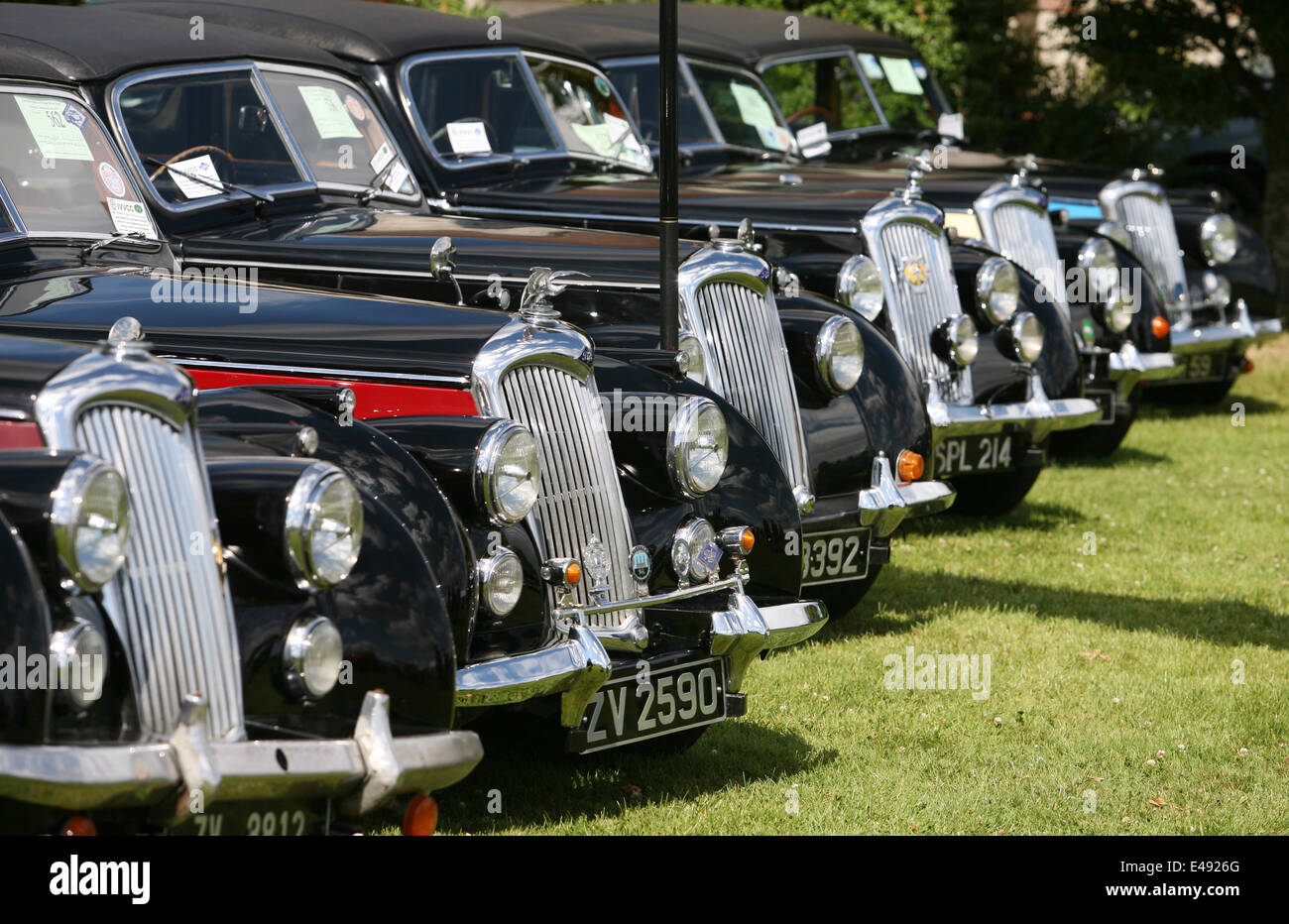 Dublin, Ireland. 6th July, 2014. Terenure Classic and Vintage car ...