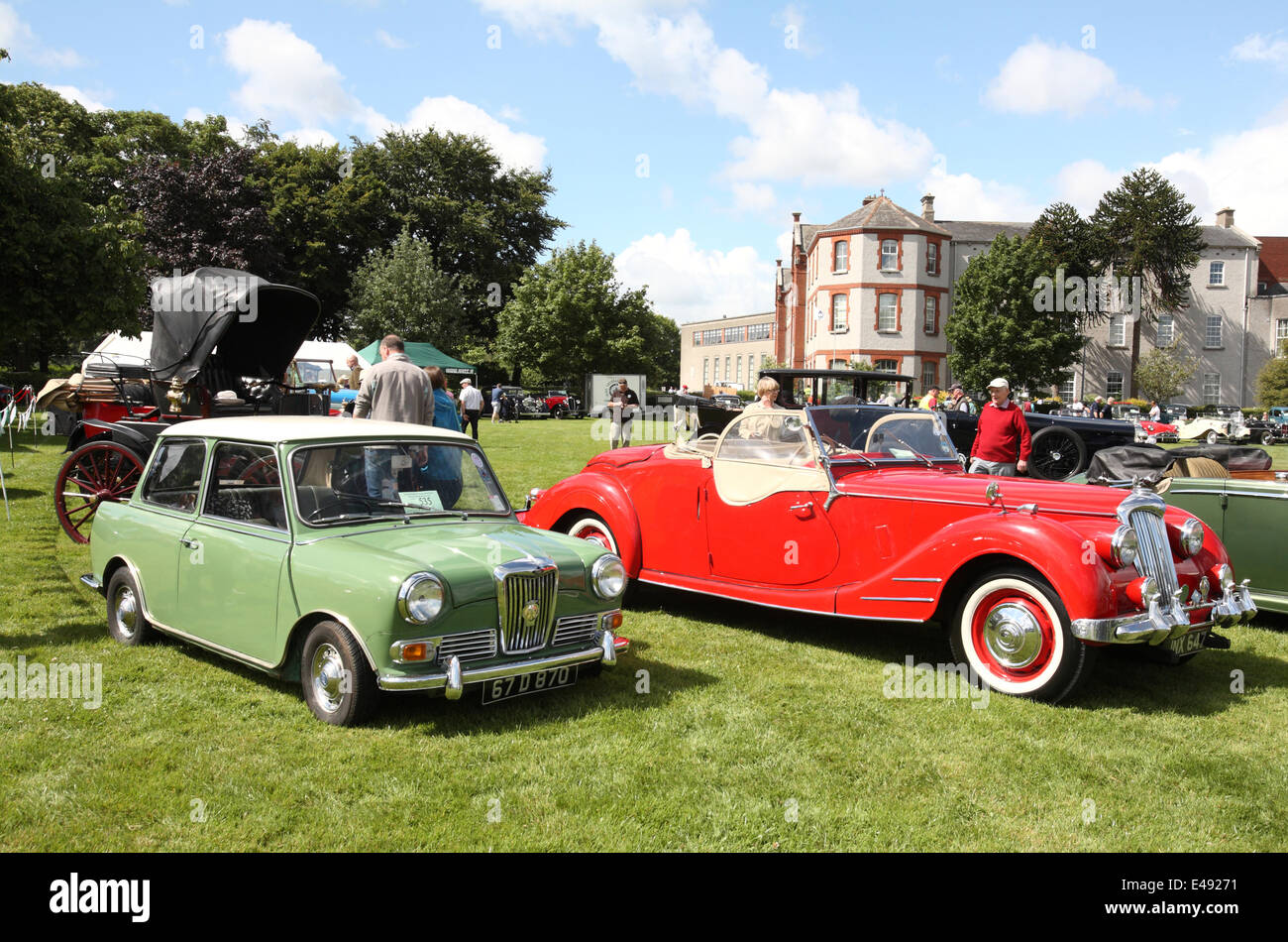 Terenure Classic and Vintage car show Dublin 2014, featuring a ...