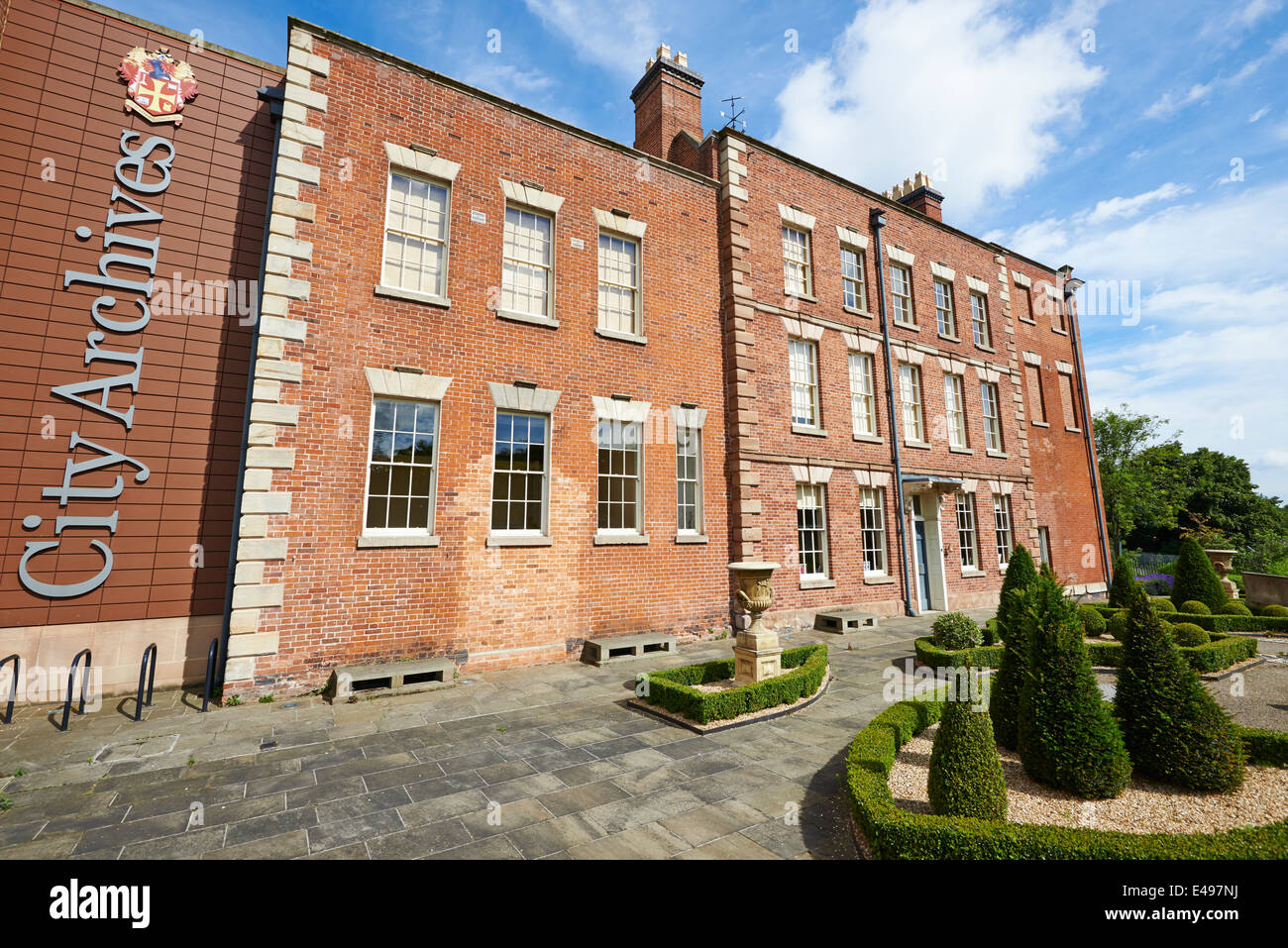 City Archives Molineux Hotel Building Whitmore Hill Wolverhampton West Midlands UK Stock Photo