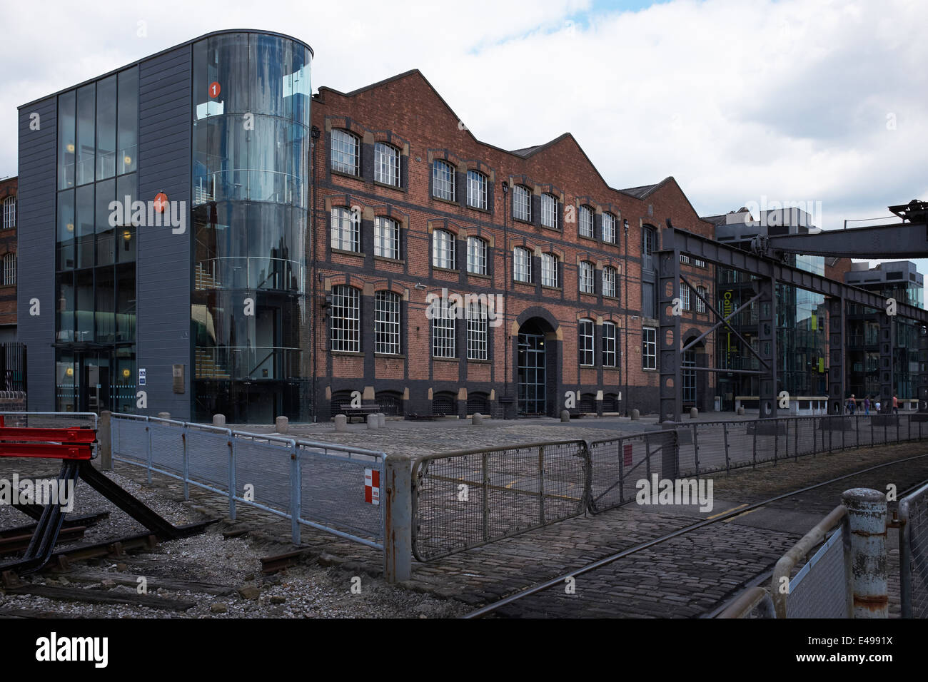 Museum of Science and Industry in Manchester city centre UK - Stock Image