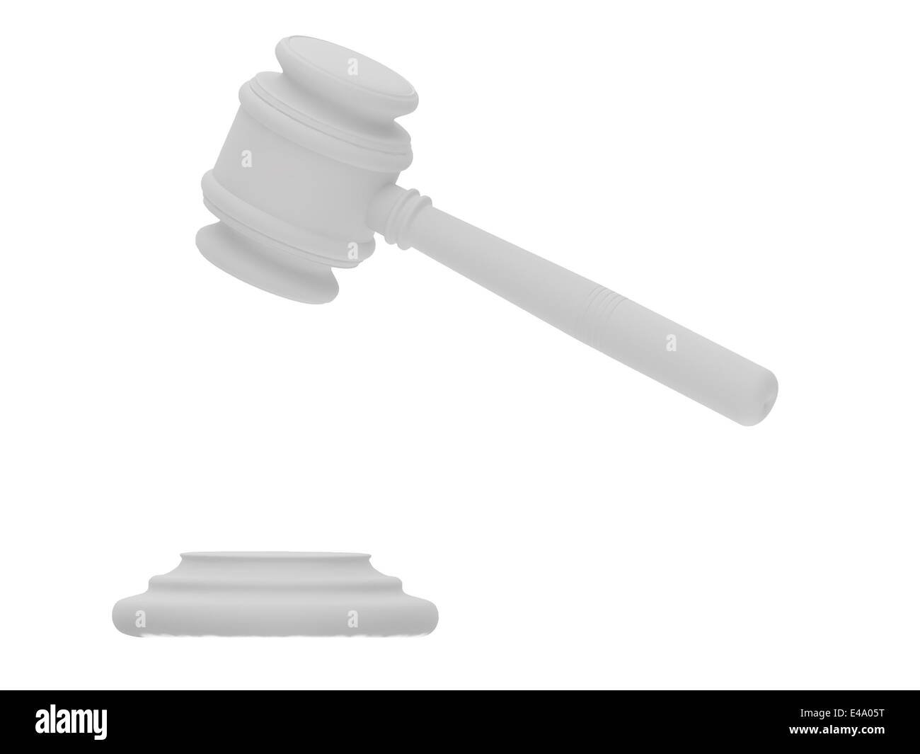 Anvil of the justice - Stock Image