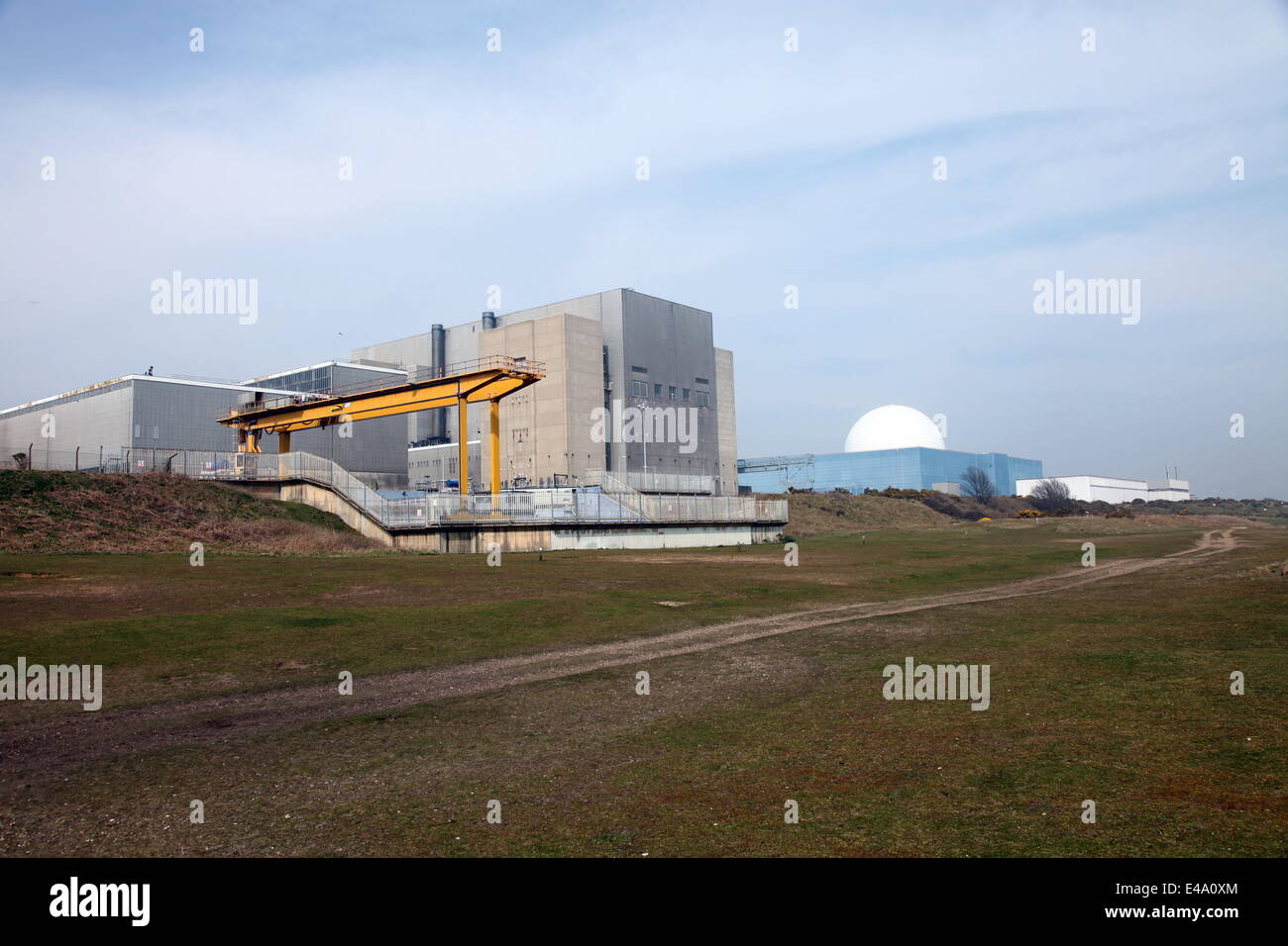 Sizewell Nuclear Power Station, Suffolk, England, United Kingdom, Europe - Stock Image