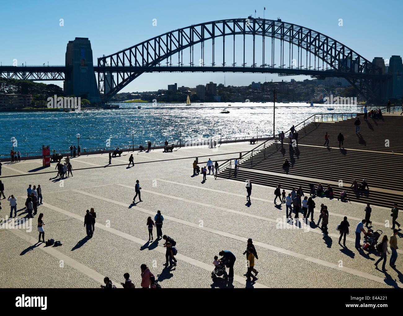Circular Quay, Sydney, New South Wales, Australia, Pacific - Stock Image