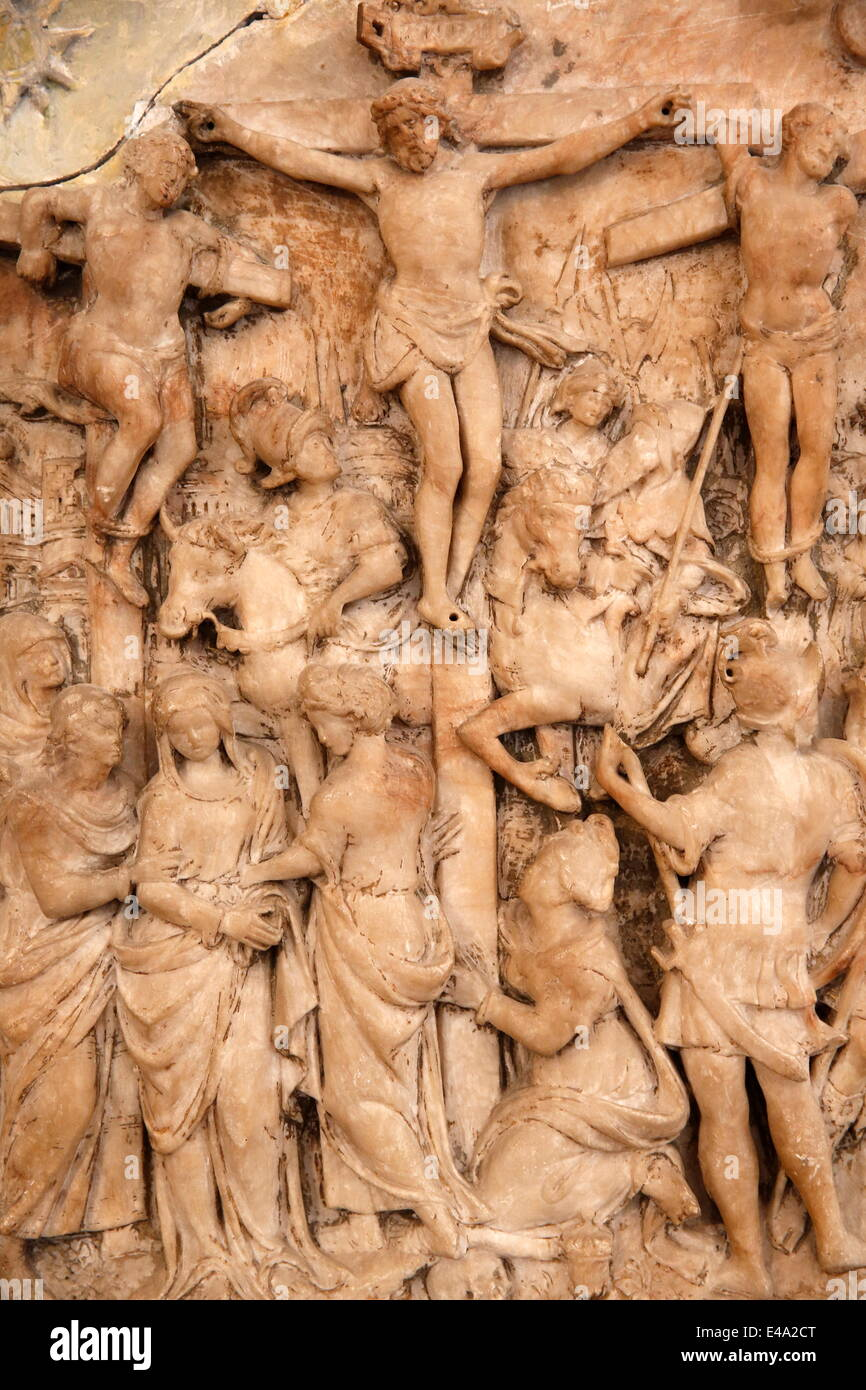 Saint-Vaast Abbey, Arras Fine Arts Museum, Arras, Pas-de-Calais, France, Europe - Stock Image