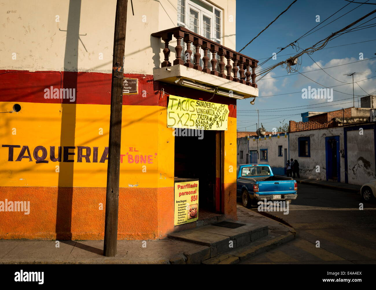 Cholula, Puebla Province, Mexico, North America - Stock Image