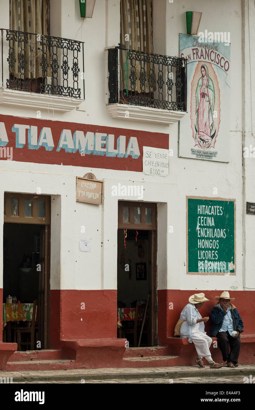 Cuetzalan, Puebla State, Mexico, North America - Stock Image