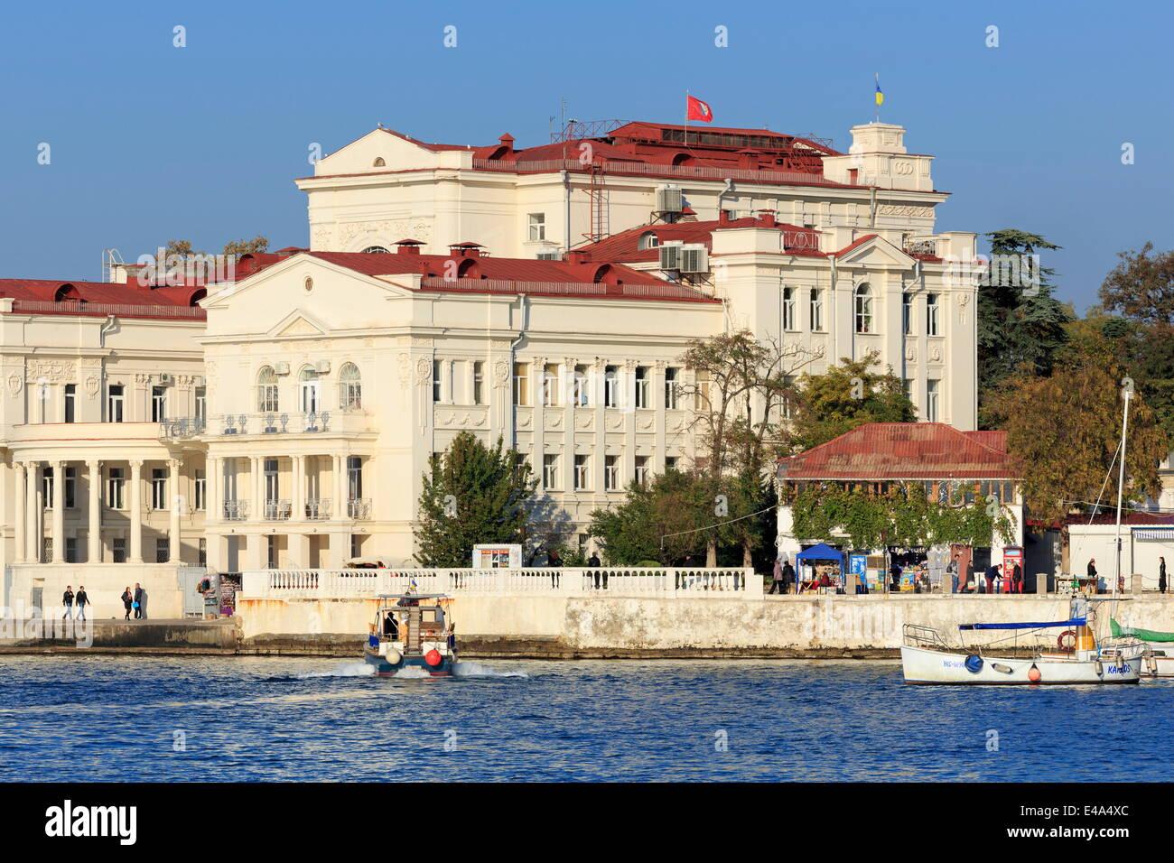 Lunacharsky Drama Theatre, Sevastopol, Crimea, Ukraine, Europe - Stock Image