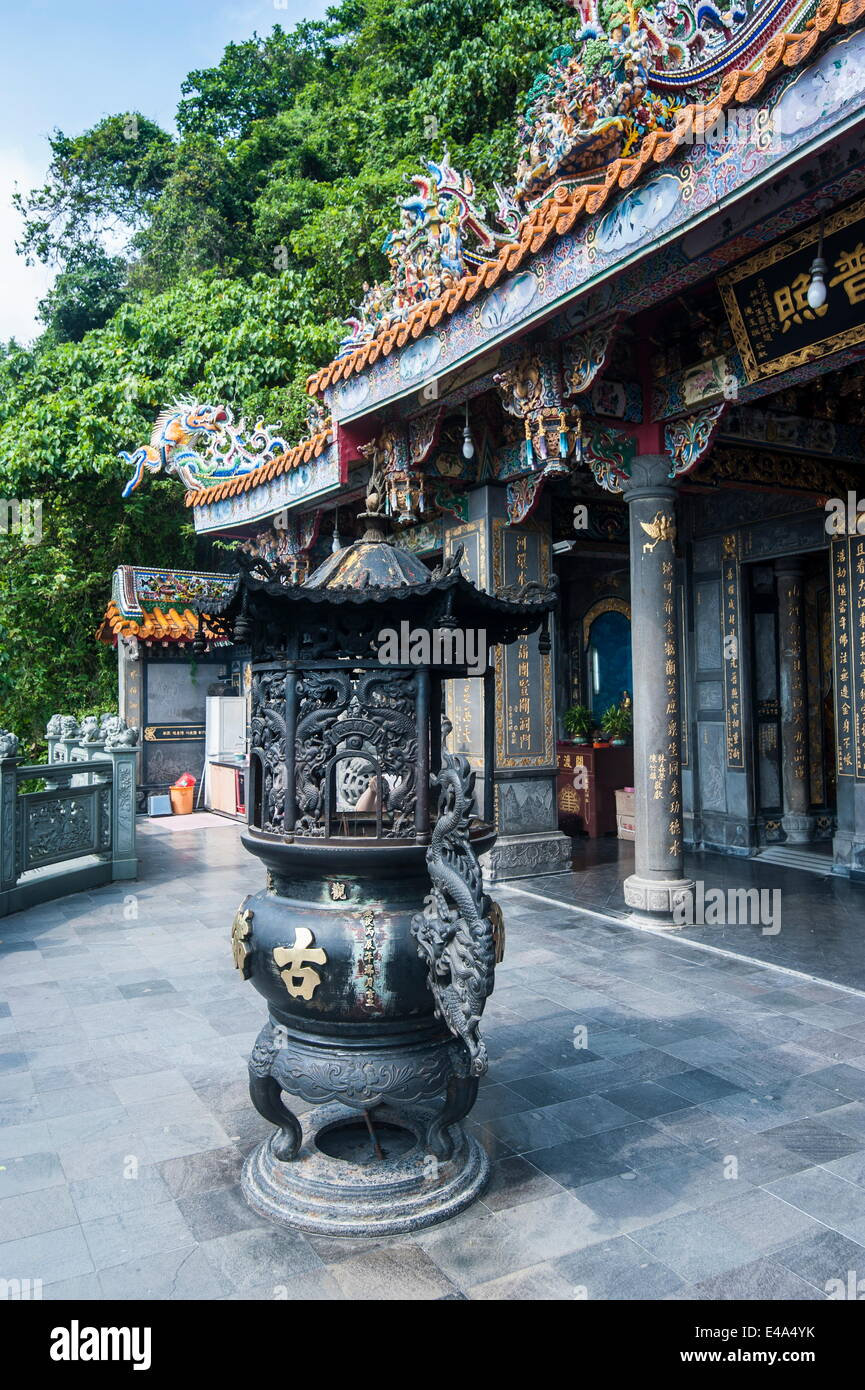 Guandu Temple, Guandu, Taipeh, Taiwan, Asia - Stock Image