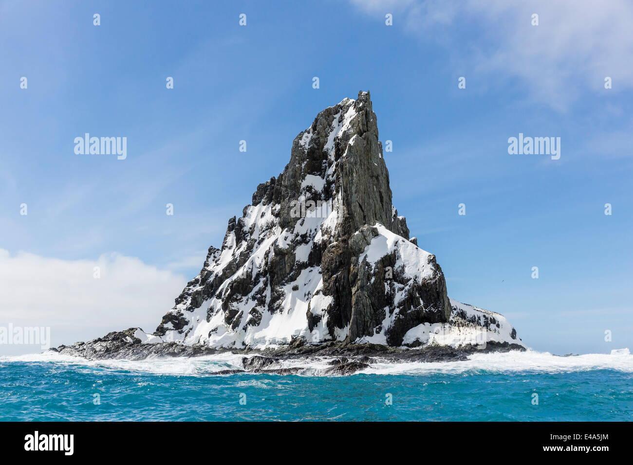 Point Wild, Elephant Island, South Shetland Islands, Antarctica, Polar Regions - Stock Image