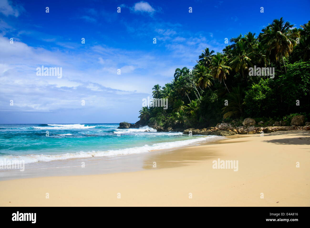 Playa Grande, Dominican Republic, West Indies, Caribbean, Central America - Stock Image