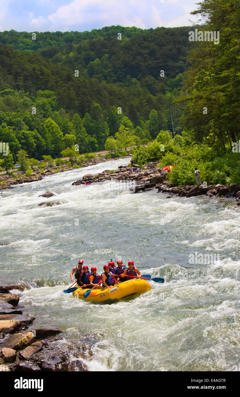 Whitewater rafting tours on the Ocoee River in Ducktown
