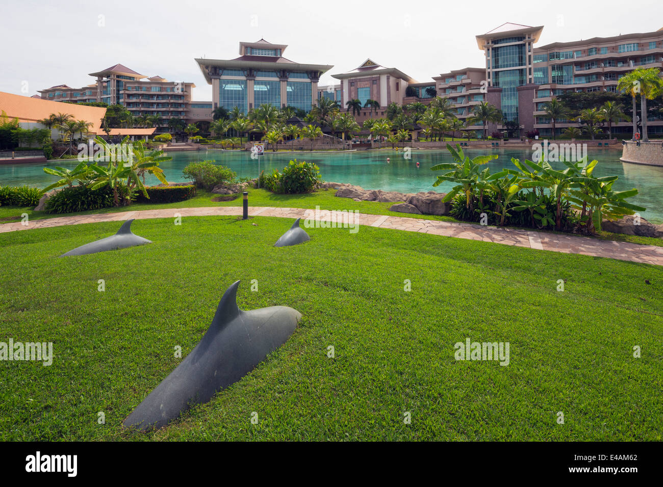 South East Asia, Kingdom of Brunei, Empire Hotel and Country Club - Stock Image