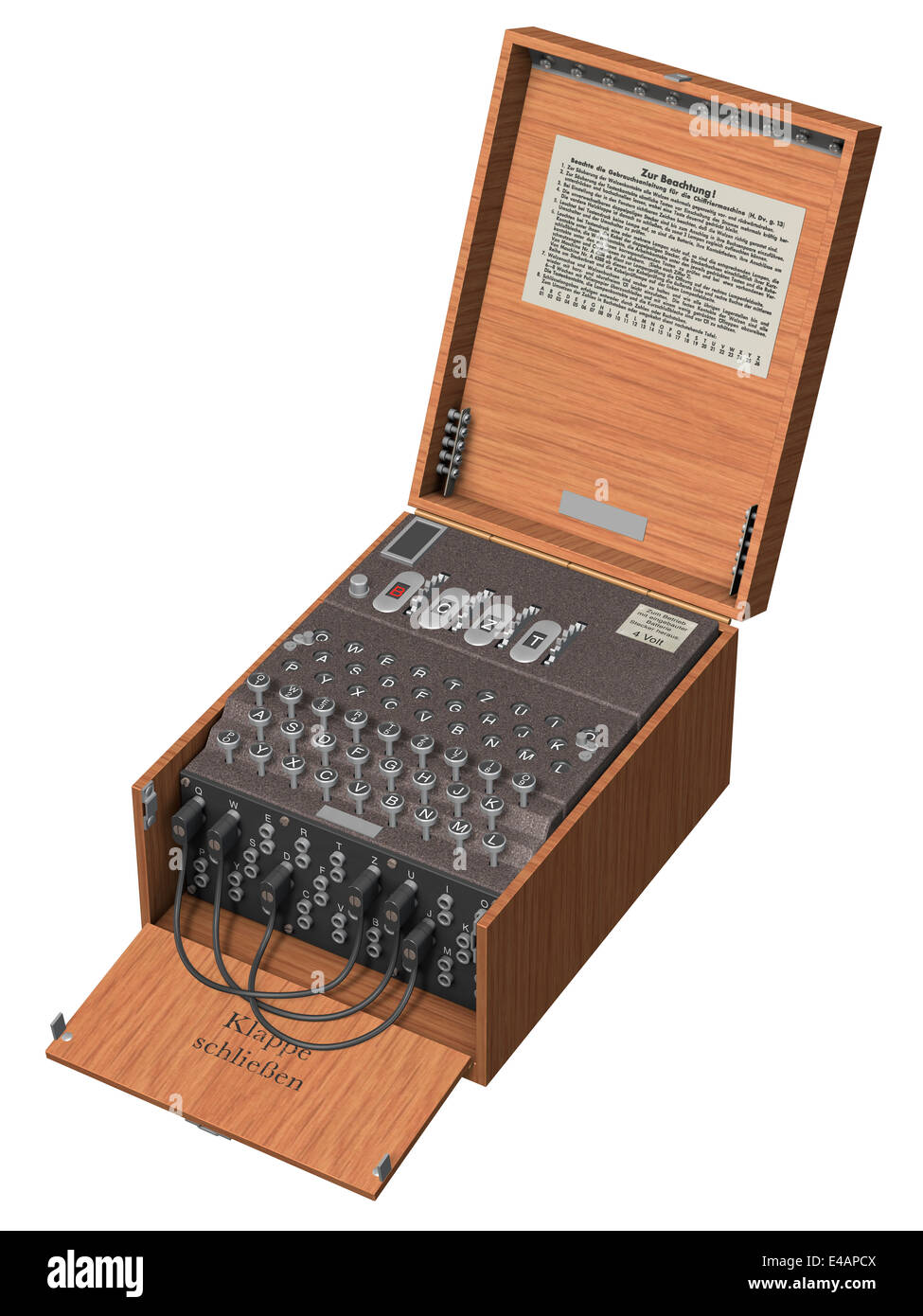 Enigma Machine - Stock Image