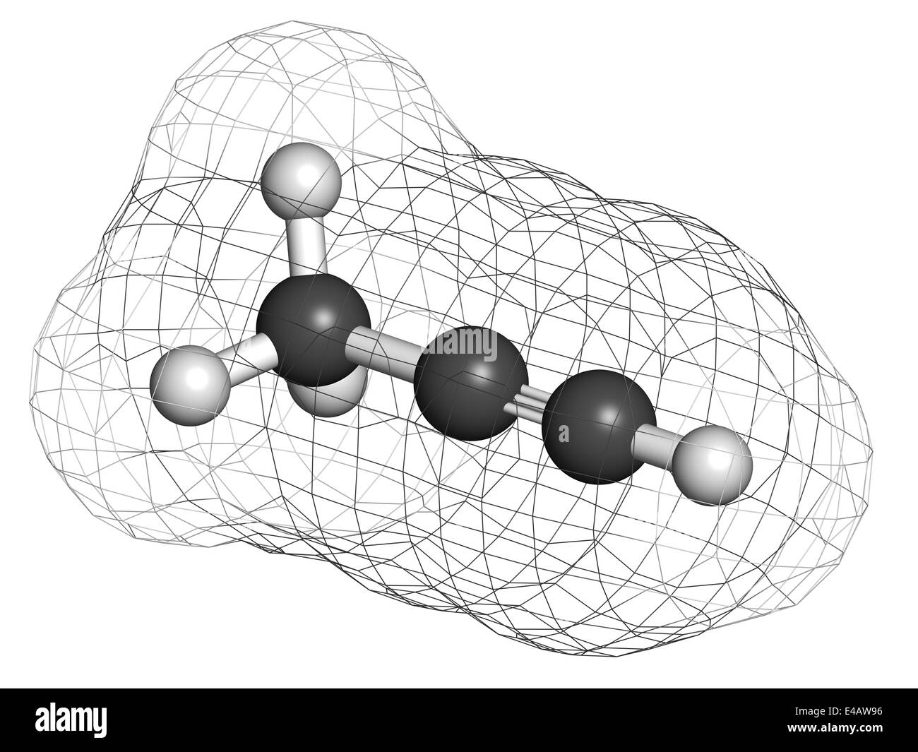 Welding Gas Black And White Stock Photos Images Alamy Diagram Methylacetylene Propyne Molecule Used In Rocket Fuel