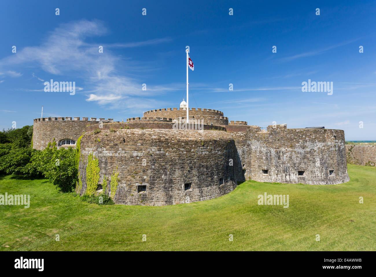 Deal Castle Kent - Stock Image