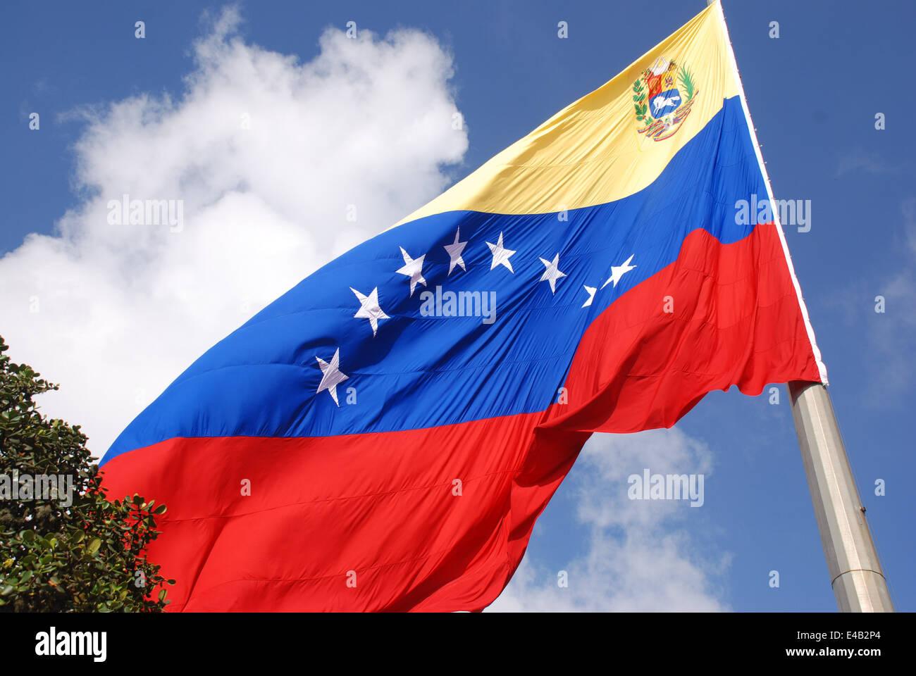 Venezuela flag. Venezuela - Stock Image
