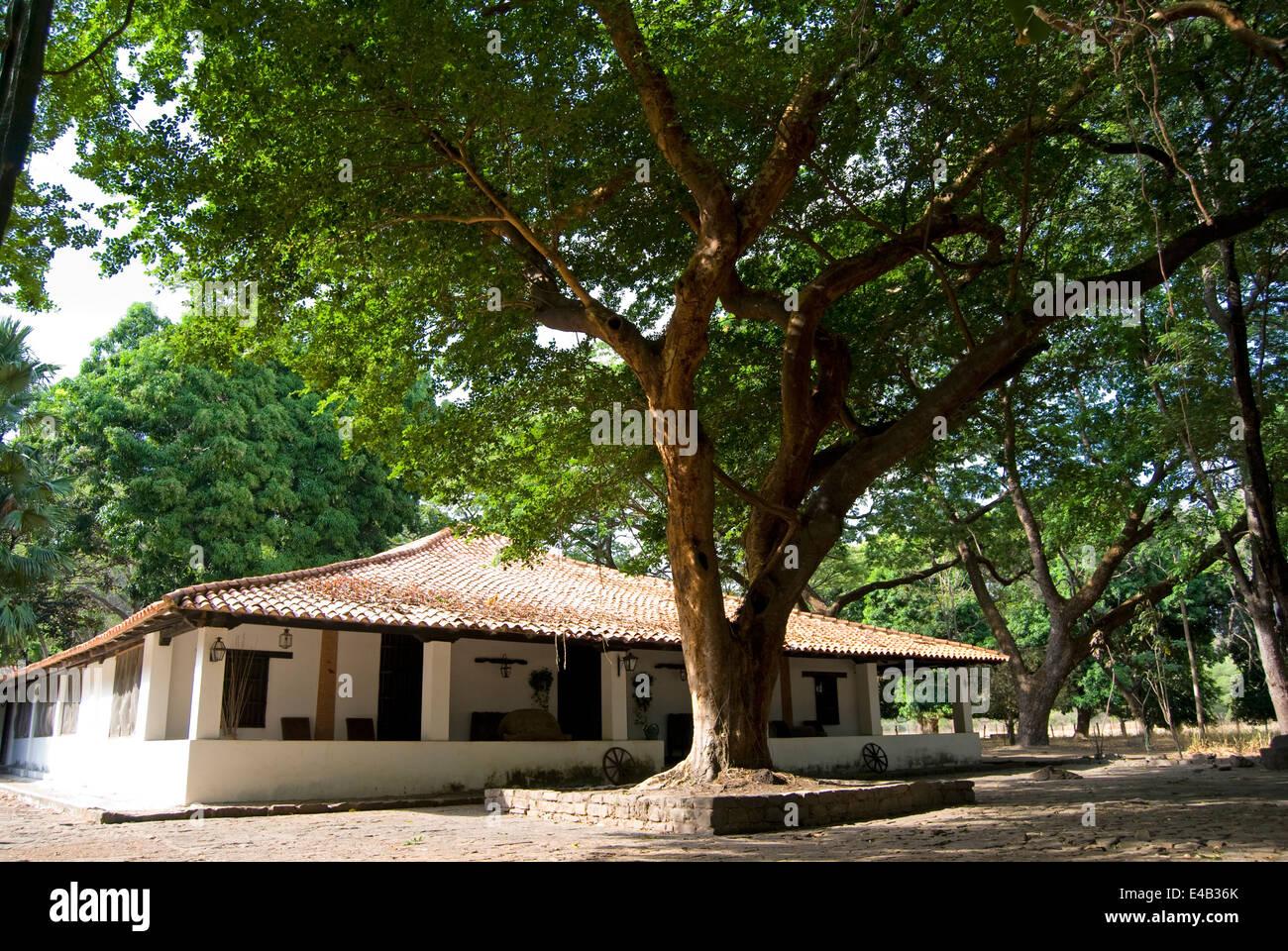 Venezuela Colonial House. - Stock Image