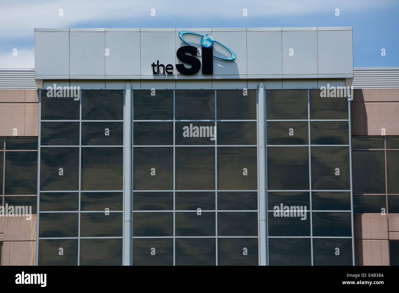An office building occupied by The SI Organization, Inc. - Stock Image