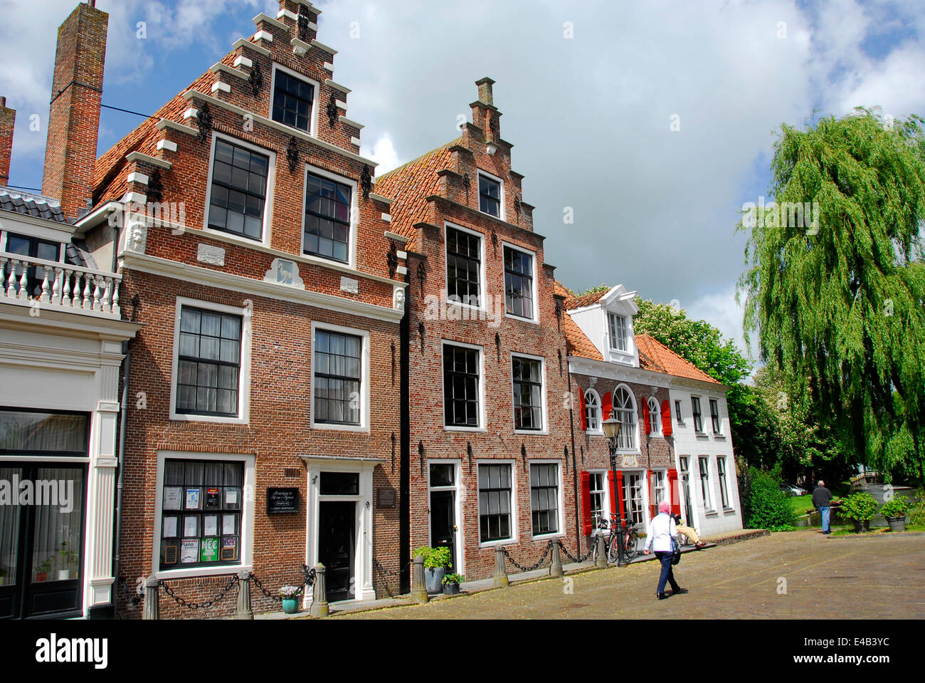 Town of Edam, Netherlands - Stock Image