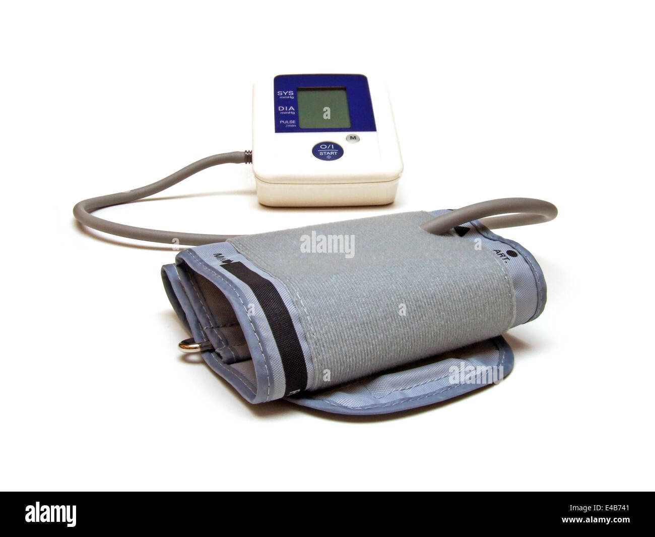 blood pressure meter - Stock Image