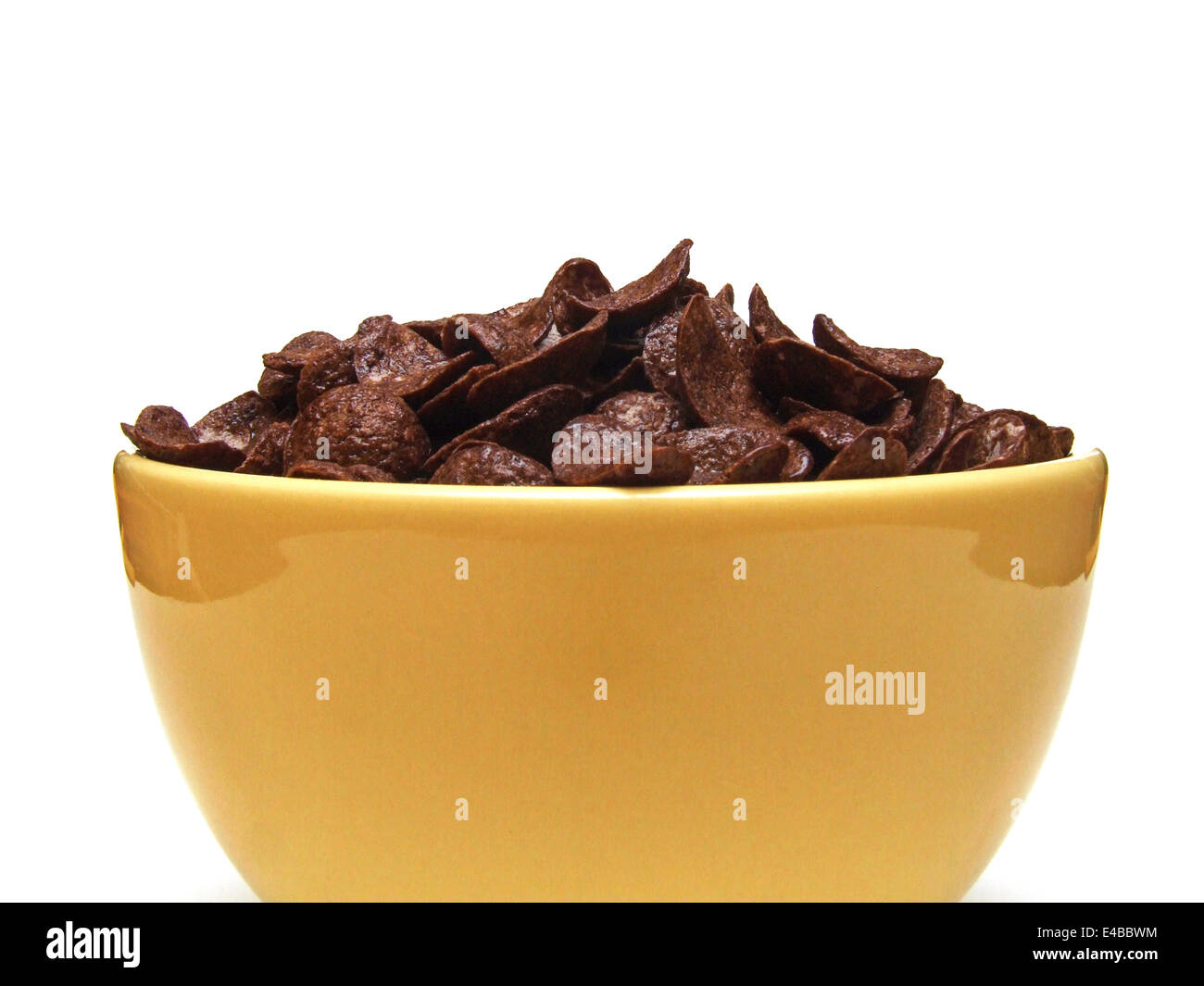 chocolate flakes Stock Photo
