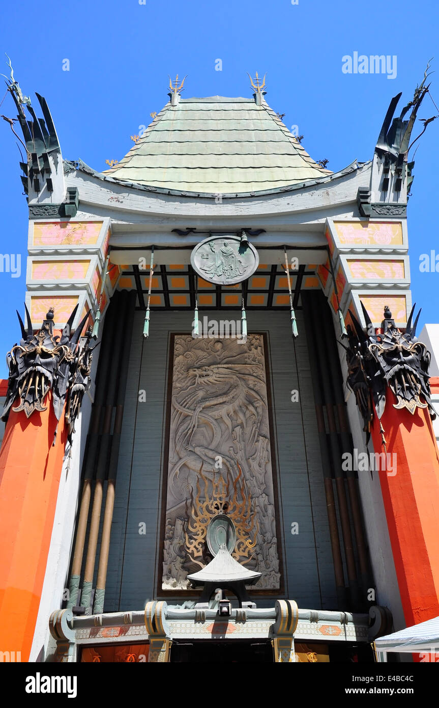 Grauman's Chinese Theate Entrance - Stock Image