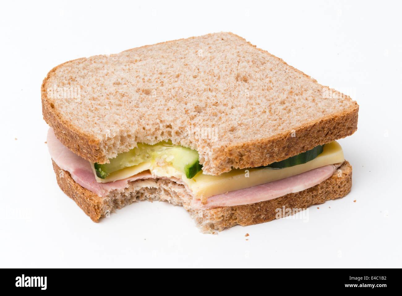 Tasty British sandwich - Stock Image