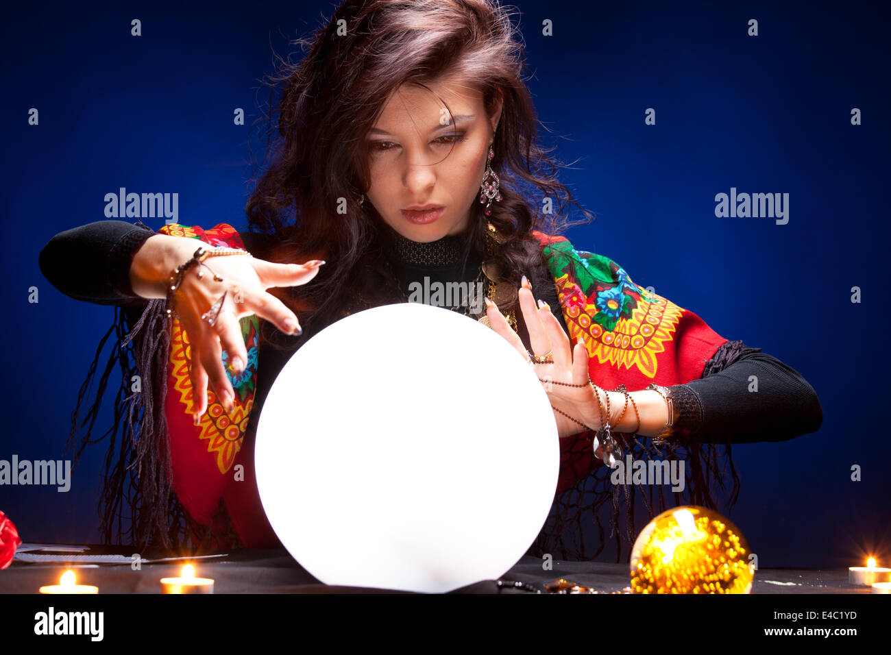 Fortune teller - Stock Image