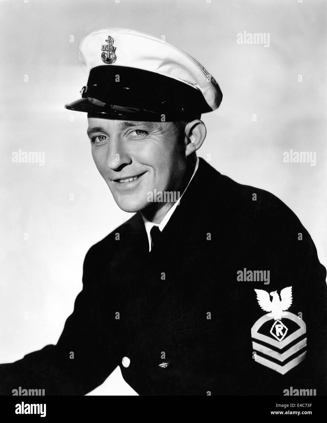 Bing Crosby, Publicity Portrait for the Film, 'Here Come the Waves', 1944 - Stock Image