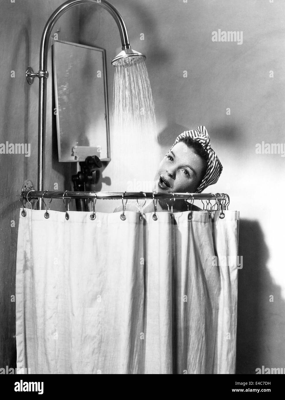 Judy Garland, on-set of the Film, Summer Stock', 1950 - Stock Image