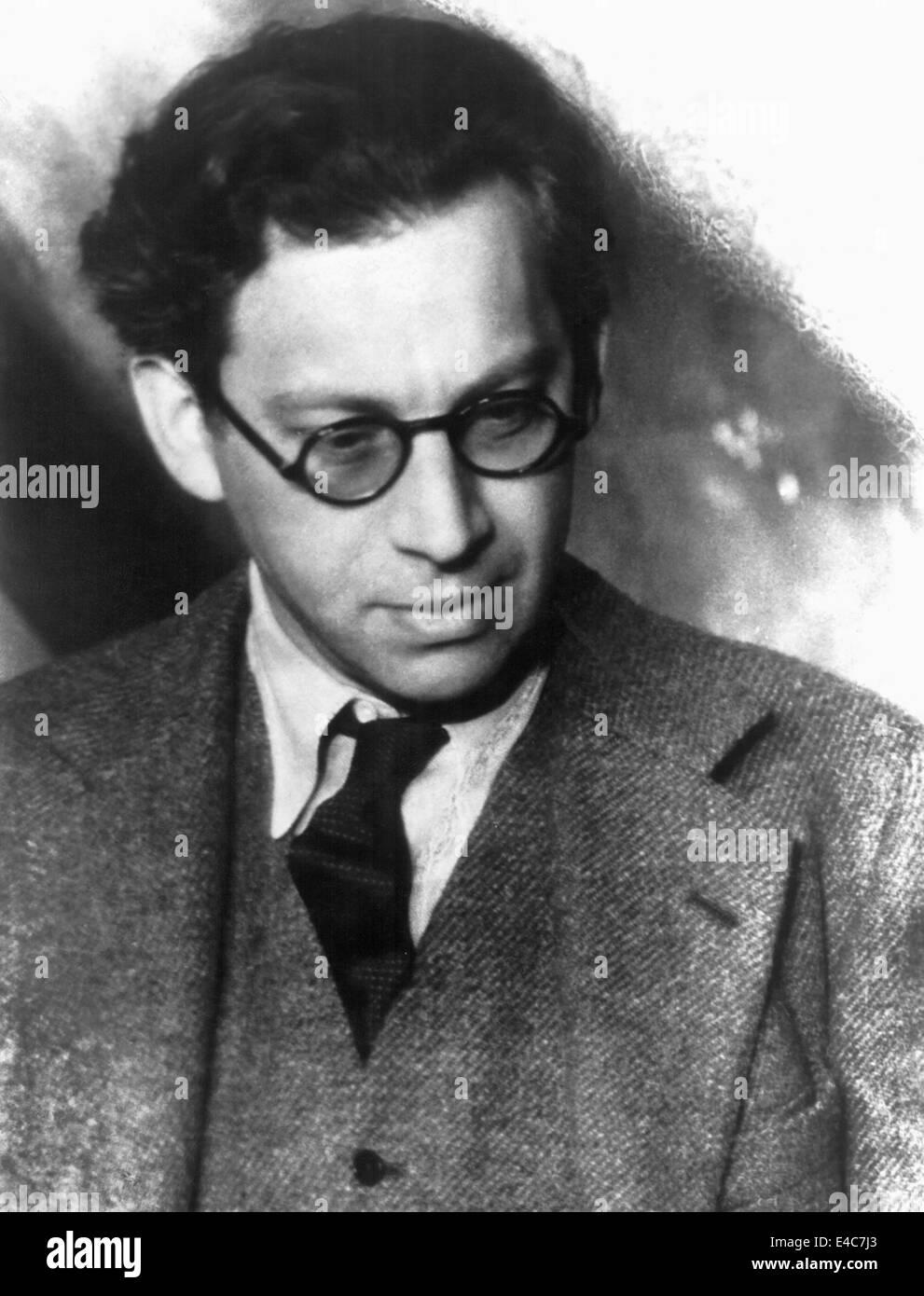 Alexander Korda, Hungarian-born British Film Producer and Director, Portrait, circa 1920's - Stock Image