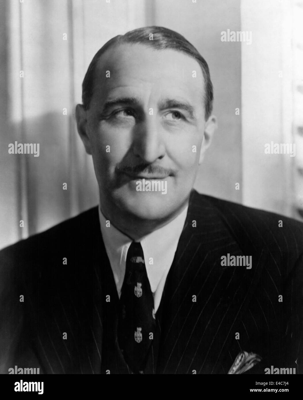 J. Arthur Rank,  British Industrialist and Head and Founder of the Rank Organization, Circa 1940's - Stock Image