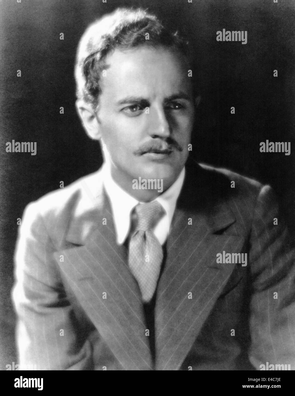 Darryl F. Zanuck (1902-1979), American Film Studio Executive and Producer, Portrait, circa early 1930's - Stock Image