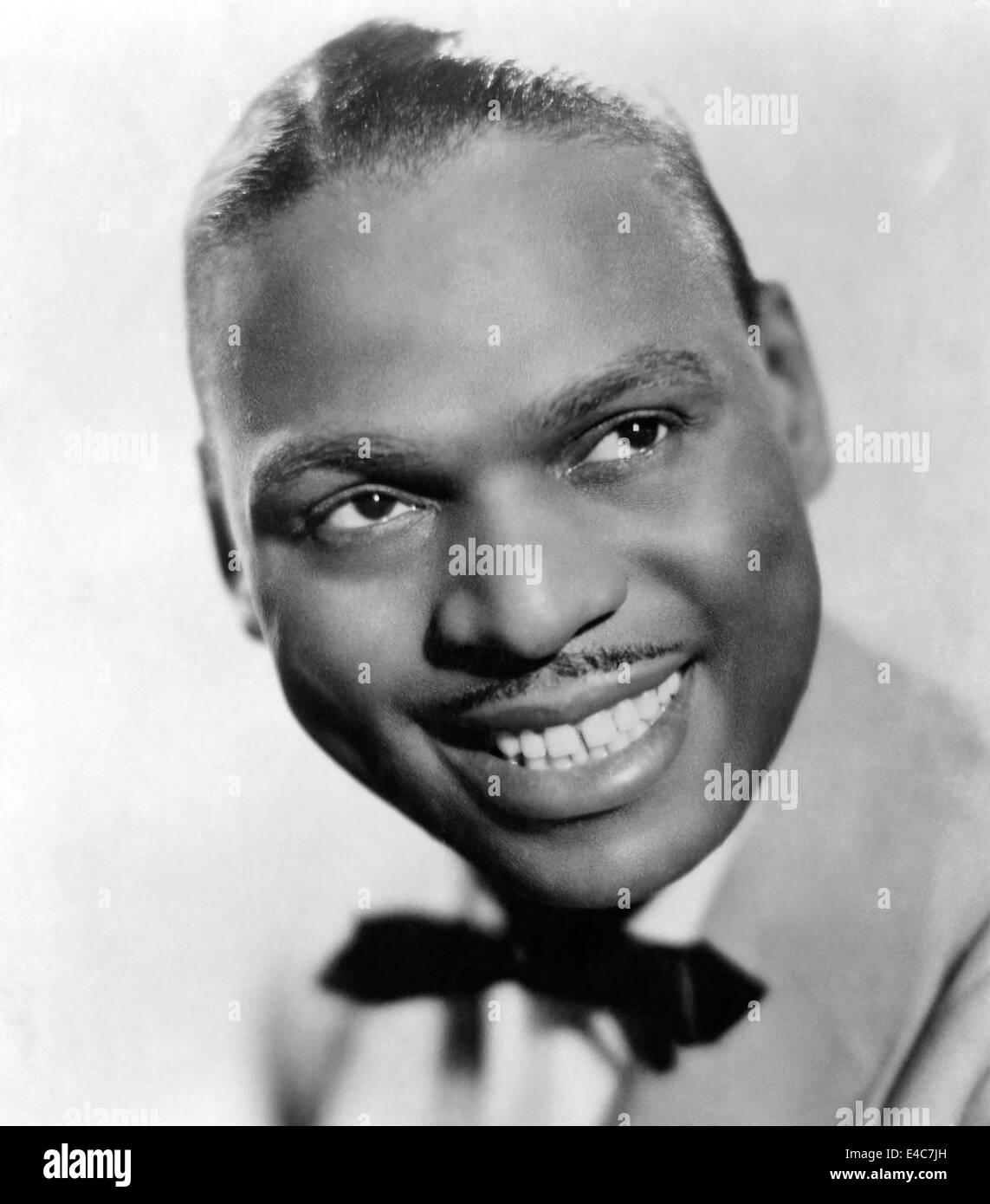 Earl Hines, Jazz Pianist, Portrait, circa 1950's - Stock Image