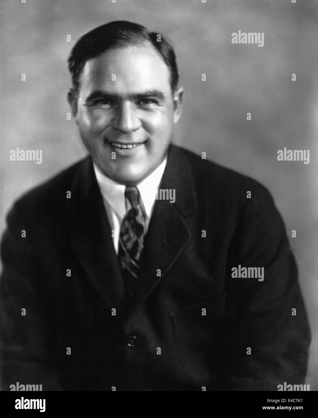 Hal Roach (1892-1992), American Film and Television Producer, Director, and Actor, Portrait, circa 1930's - Stock Image