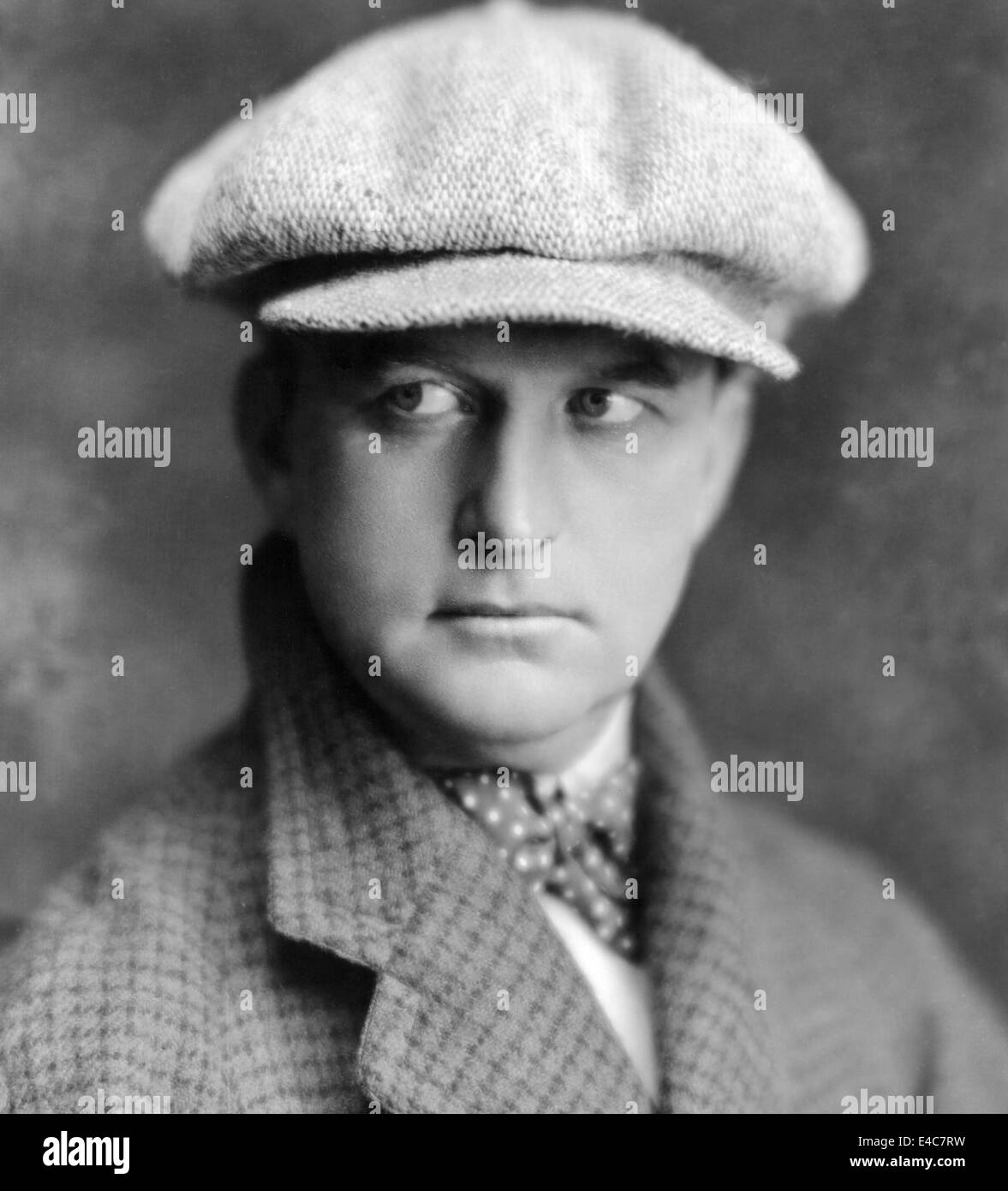 Thomas Ince (1882-1924), American Silent Film Producer and Director, Portrait, circa 1910's - Stock Image