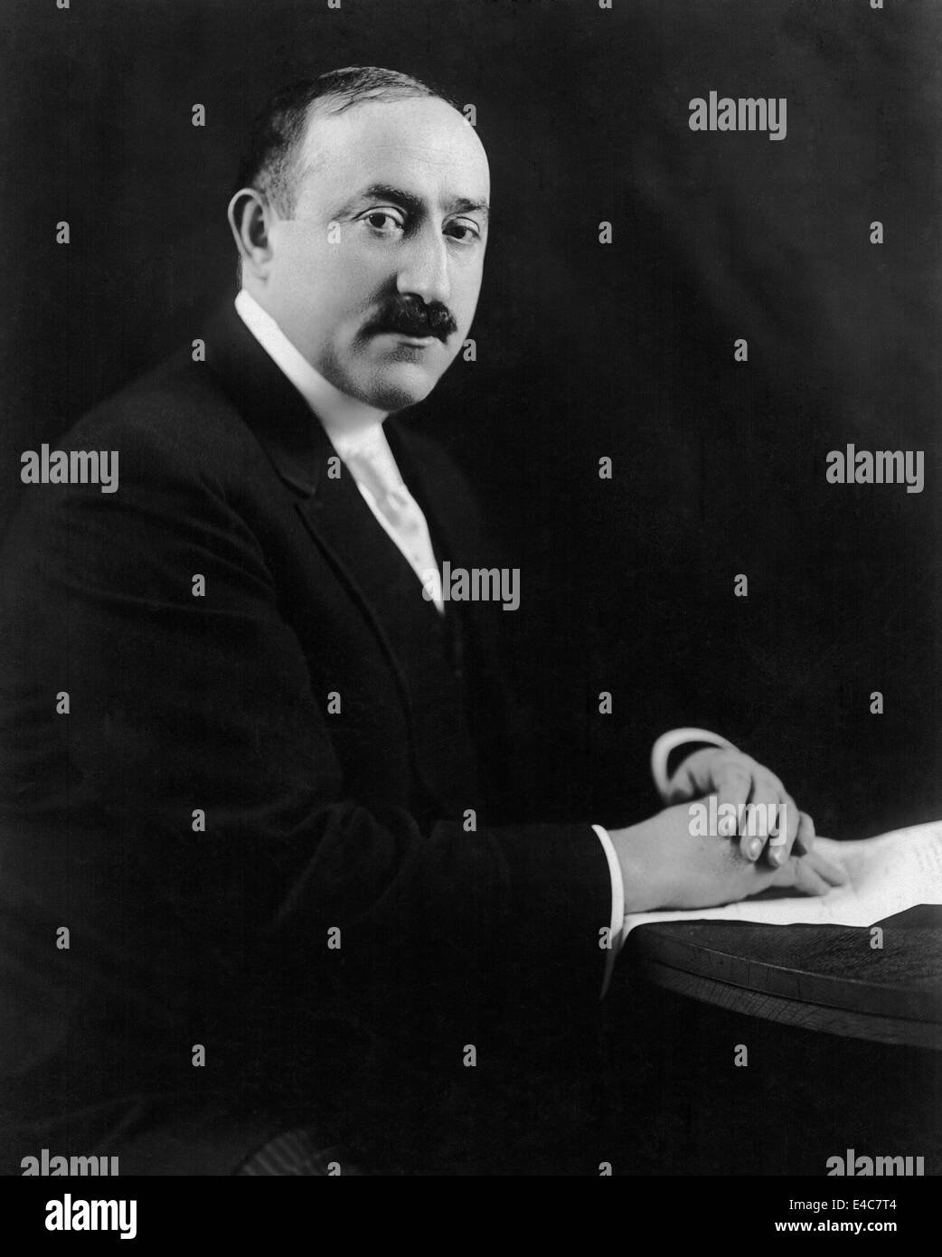 William Fox (1879-1952), American Pioneering Motion Picture Executive and Founder of Fox Film Corporation, Portrait, - Stock Image