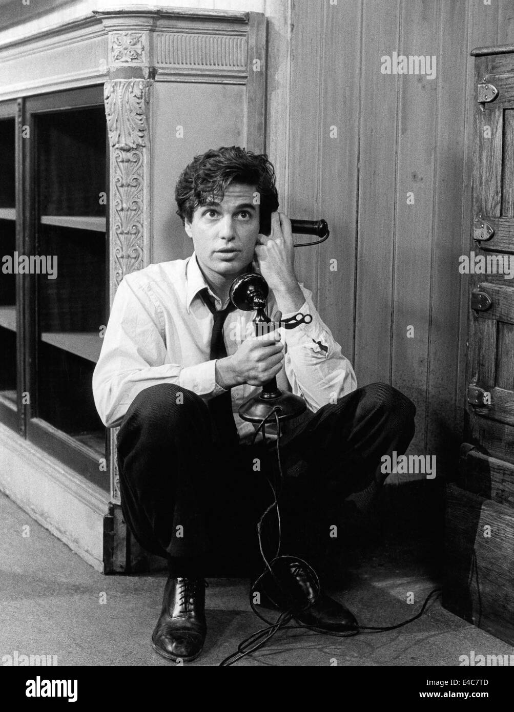 Chris Sarandon, on-set of the TV Movie, 'You Can't Go Home Again', 1979 - Stock Image